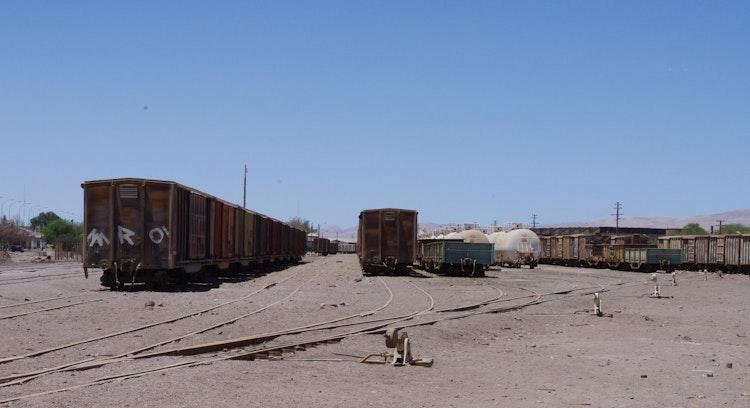 Estación ferroviaria Baquedano