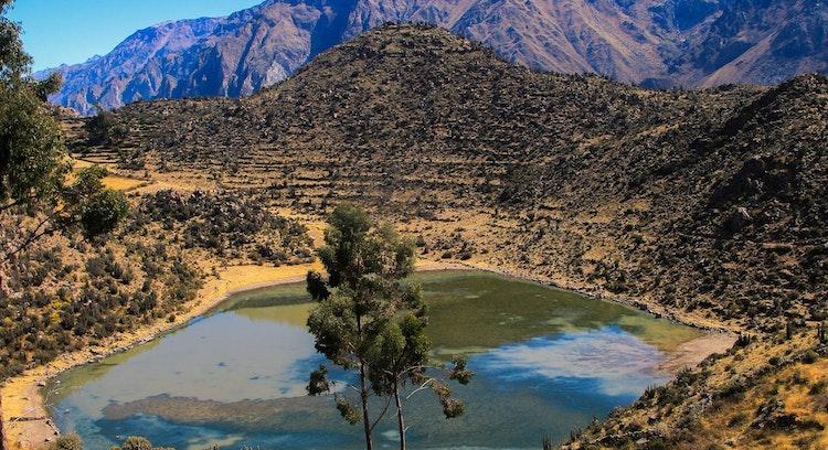Laguna Pinchollo en tour full day Colca