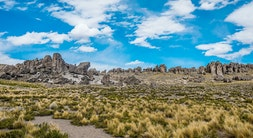 Stone Forest of Imata and Pillones Falls