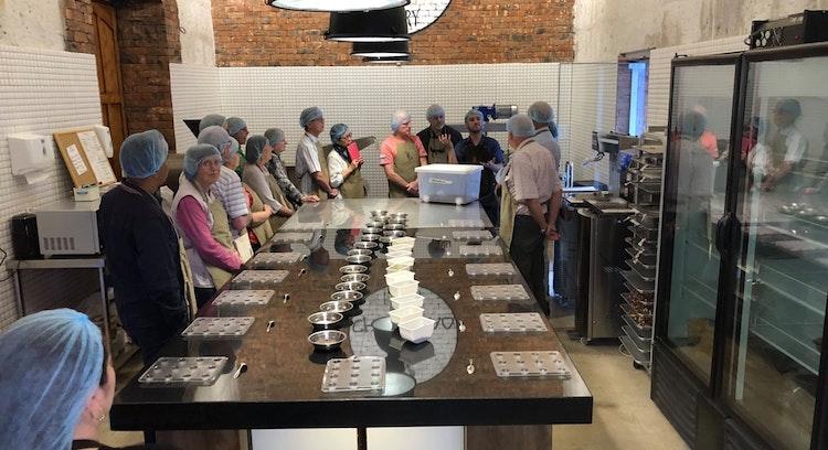 Fabricación barra de chocolate