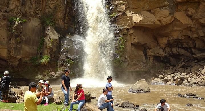 Cascadas de Cangallo