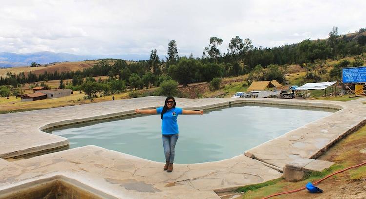Agua termal desde Ayacucho