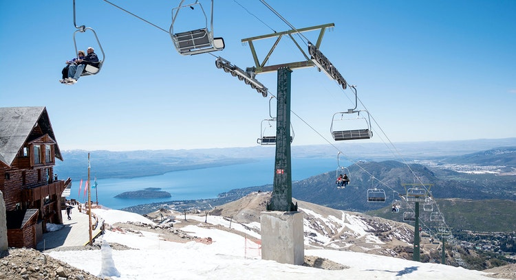 Centro de ski Cerro Catedral