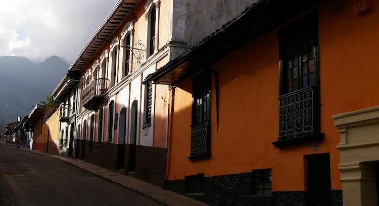 Historical Neighborhood La Candelaria