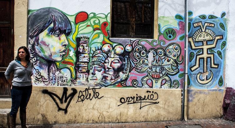 Grafitis in Bogotá
