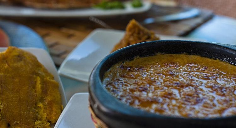 Menús típicos en Bogotá