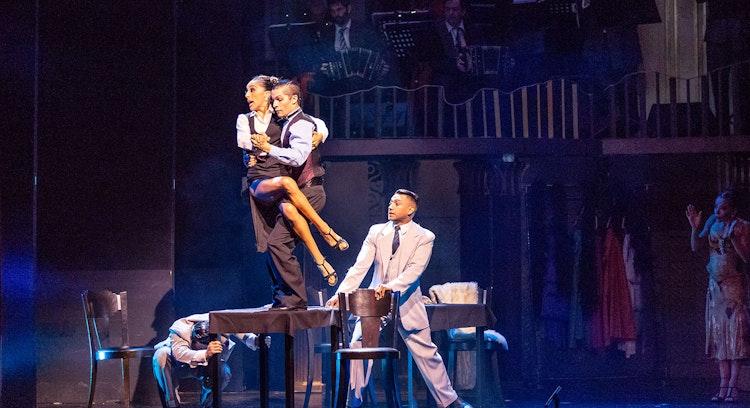 Coreografía de tango