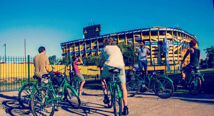 La Bombonera en bicicleta Buenos Aires