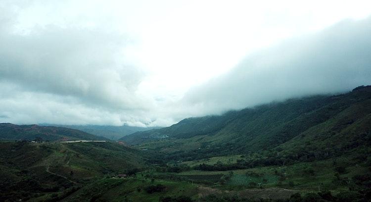 Vista del valle del Cauca