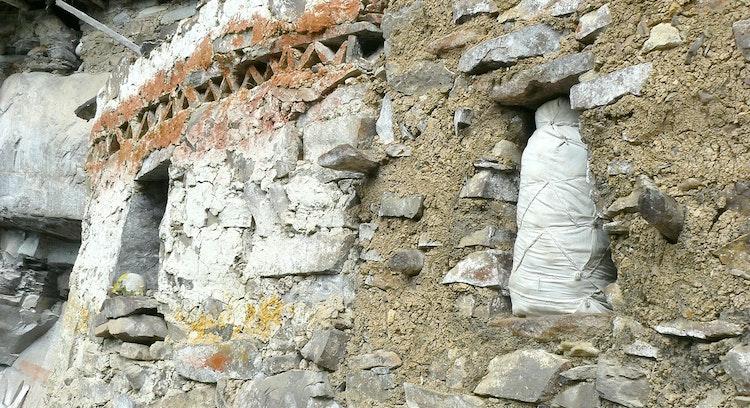 Mausoleos laguna de los Cóndores