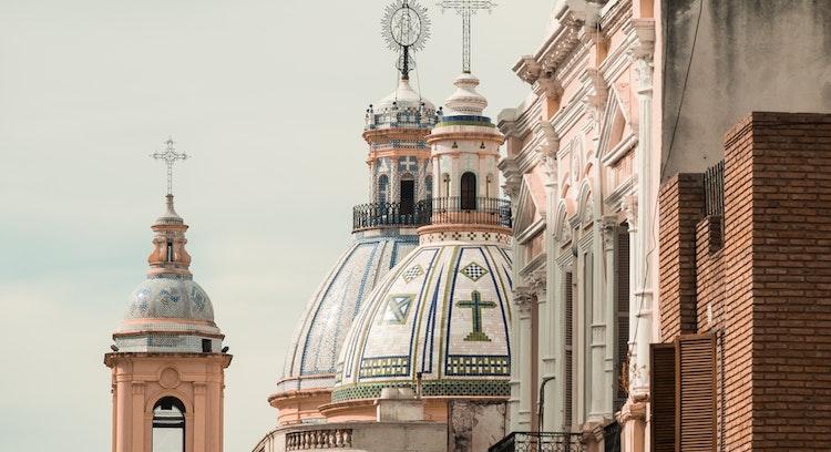 Historic Street Córdoba Argentina