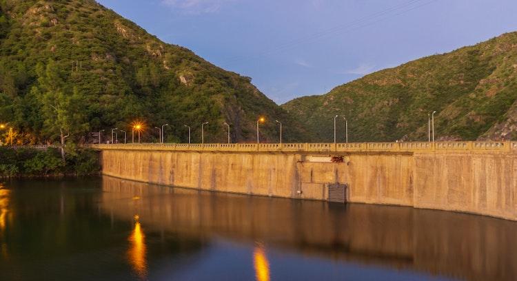 Hidroeléctrica Molet en Villa Carlos Paz, Cordoba