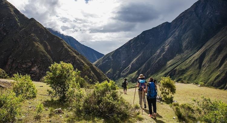 Personas Camino del Inca 2 dias