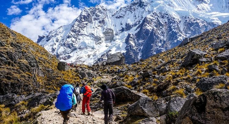 Montanha Trilha Salkantay