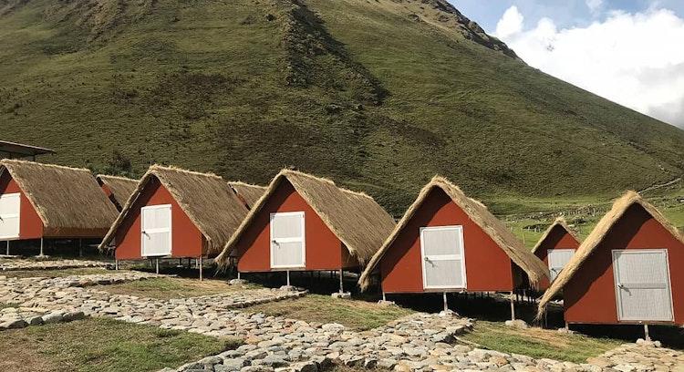 Refugios en el trekking Salkantay.