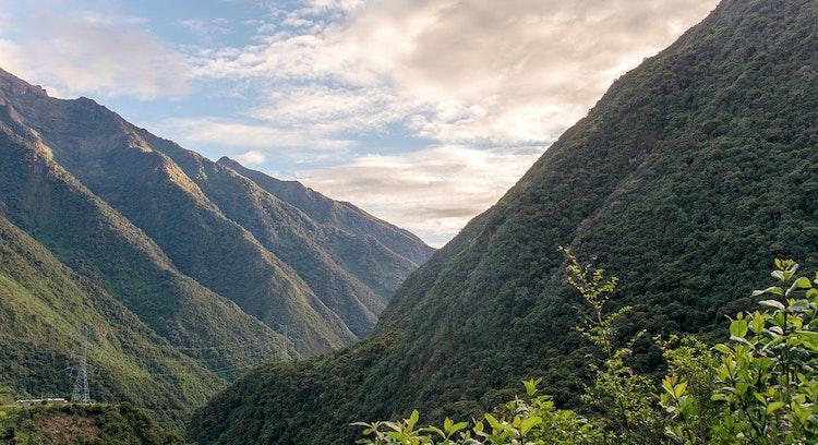 Paisaje Andes peruano
