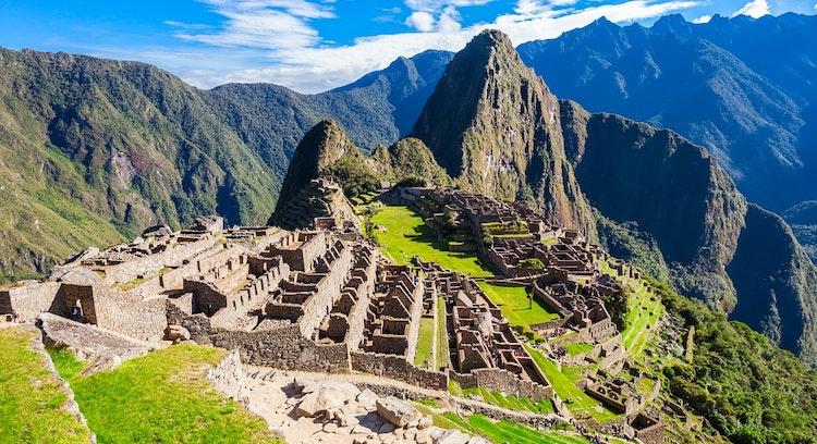 Panoramica Machu Picchu