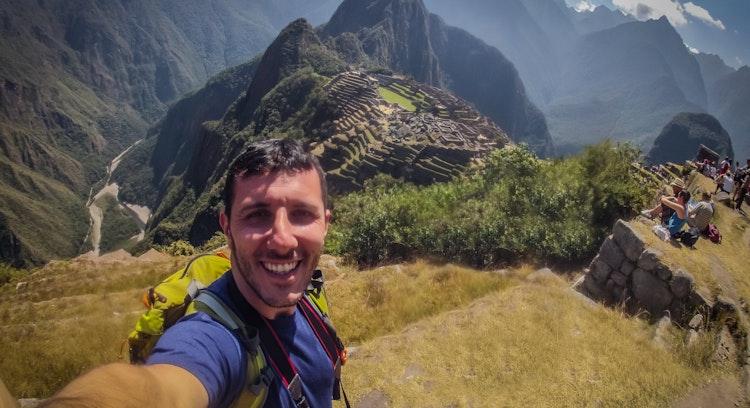 Hombre Machu Picchu