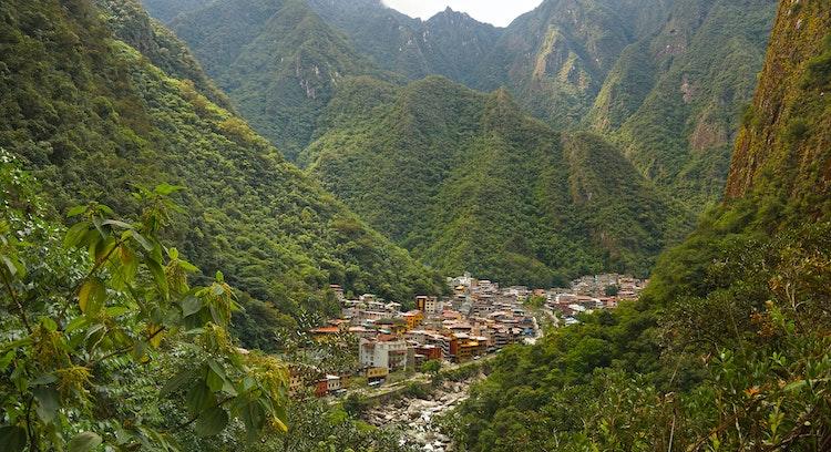 Paisagem Machu Picchu