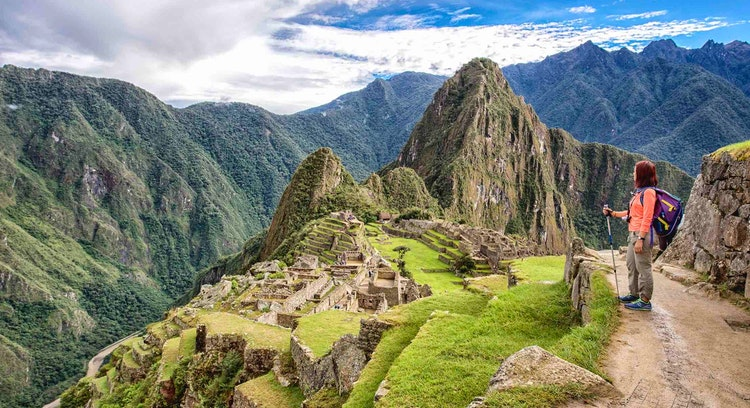Panorámica Machu Picchu