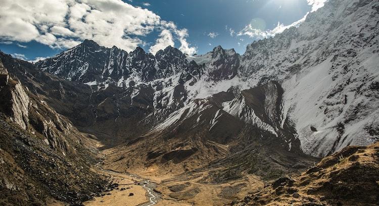 Montaña Laguna Humantay