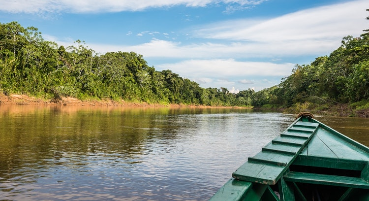 Navegacao Parque Nacional Manu