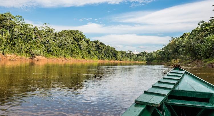 Navegación Parque Nacional Manu