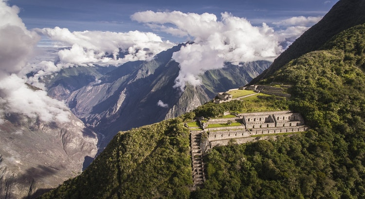 Mountain in Choquequirao Trek 4 days