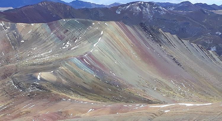 Andes peruanos en Palcoyo