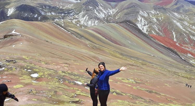 Montaña Arcoíris Palcoyo