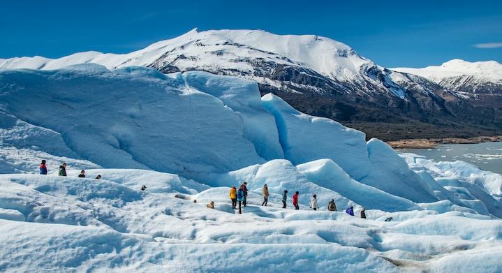 Minitrekking Glaciar Perito Moreno en Ushuaia