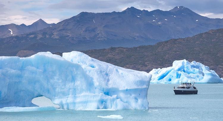 Témpanos en Patagonia argentina