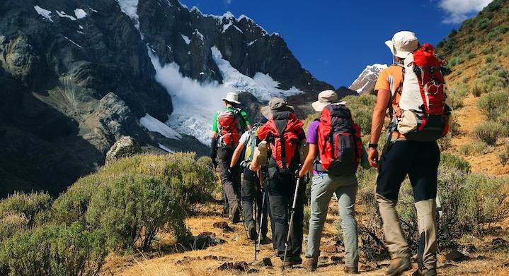 Panoramica Trekking Cordillera Huayhuash