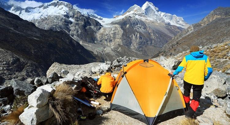 Camping South Huascaran