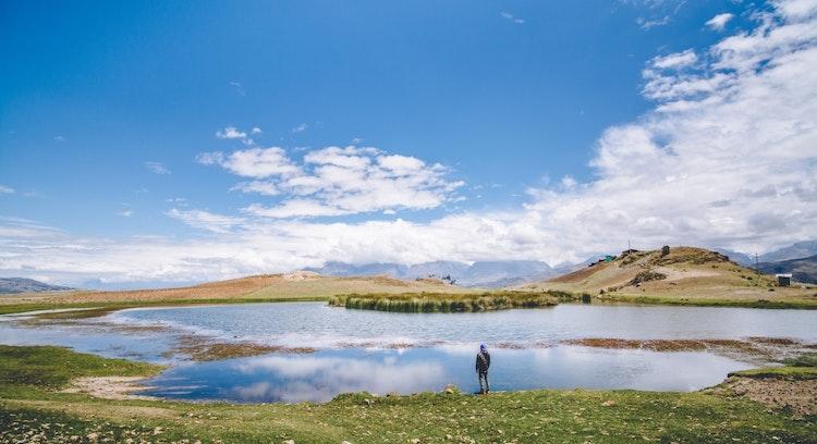 Pessoa em Lagoa Wilcacocha