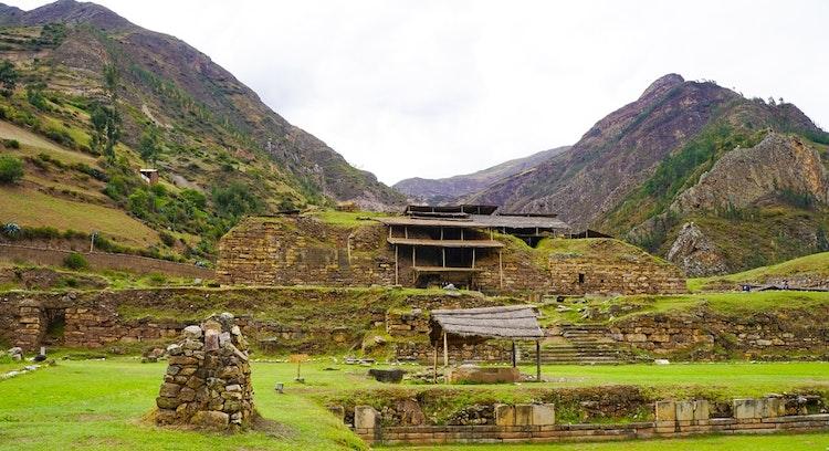 Chavin de Huantar Panoramic