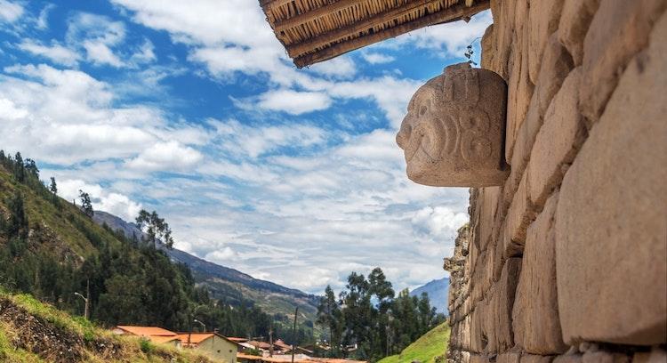 Paisagem em Chavin de Huantar