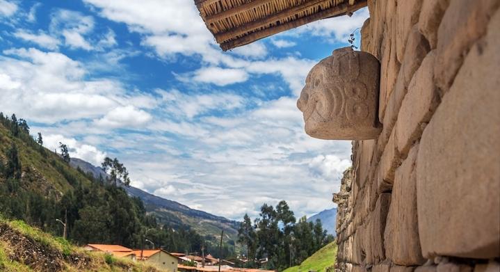 Paisaje en Chavin de Huantar