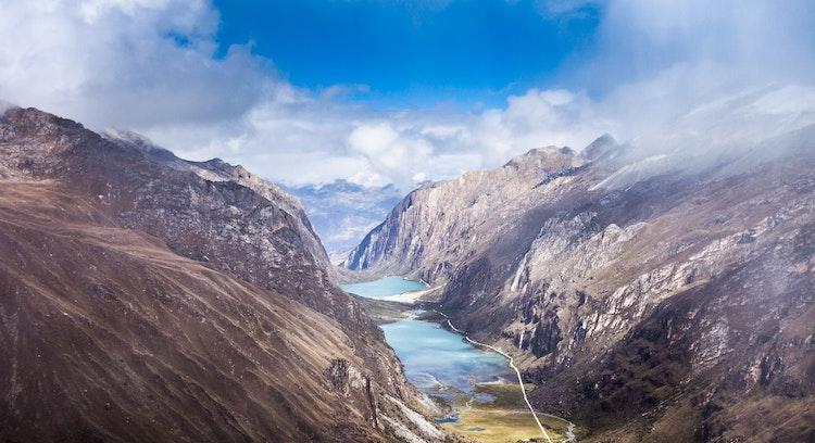Montaña en Laguna Llanganuco