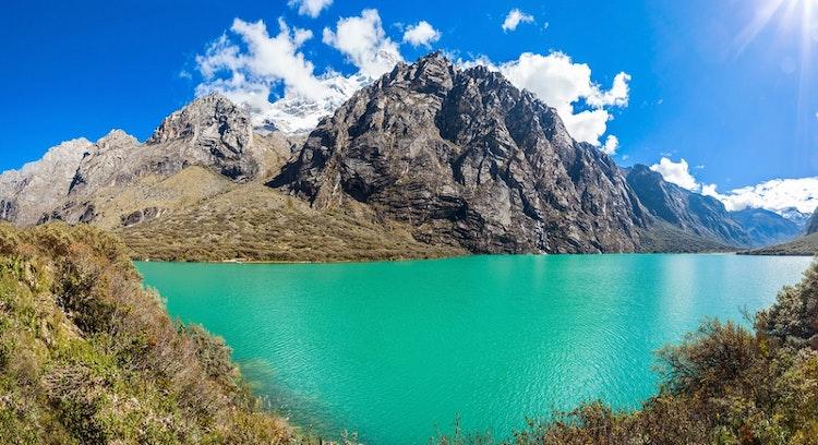 Panoramica en Laguna de Llanganuco