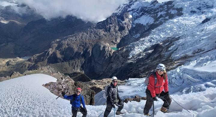 Ascenso nevado Mateo en Huaraz