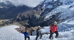 Snowcapped Mount Mateo Climb