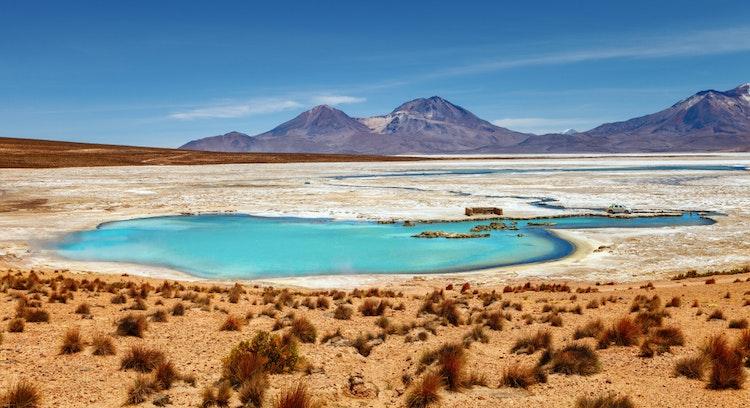 Lagoa Isluga em Iquique