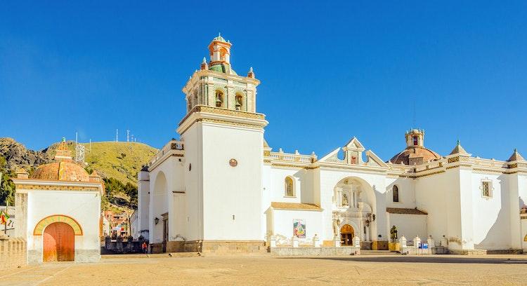 Basílica Nuestra señora de Copacabana en Bolivia