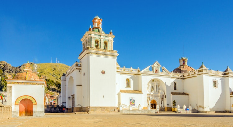 Basilica Our Lady of Copacabana in Bolivia