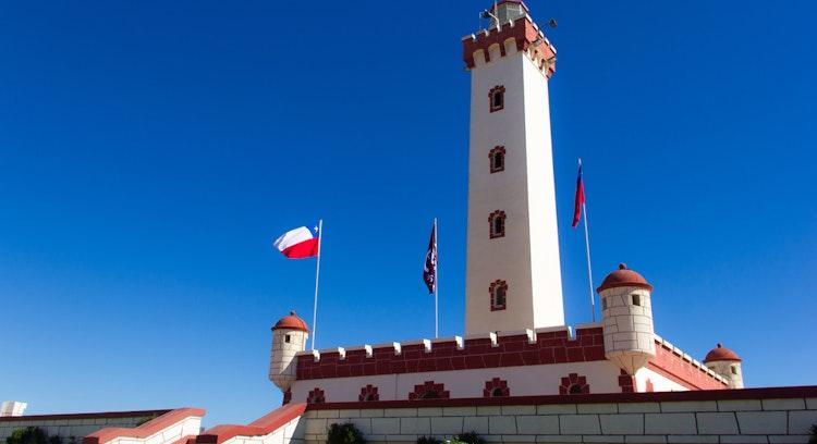 Faro de La Serena en Chile