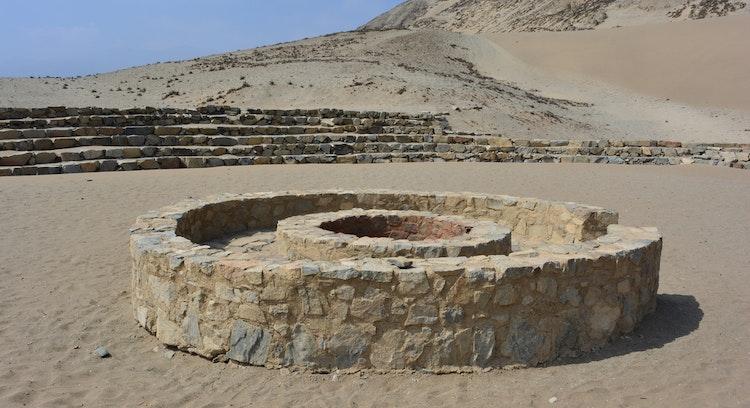 caral ruins in peru