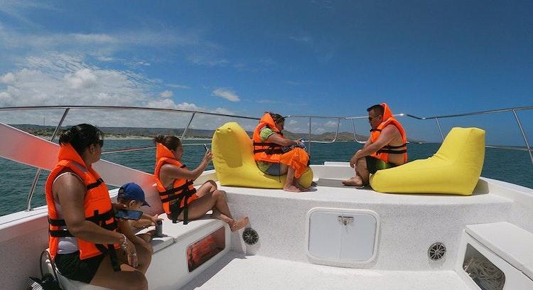 Navegación océano Pacífico