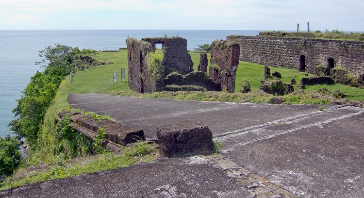 Ruinas fuerte San Lorenzo