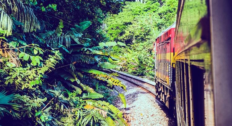 Trem histórico em Cidade do Panamá